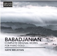 NAXOS GRAND PIANO Presents Arno Babadjanian Piano Music