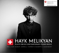 Hayk Melikyan plays Swiss Contemporary Piano Music